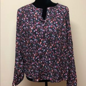 Maeve floral blouse M Anthropologie